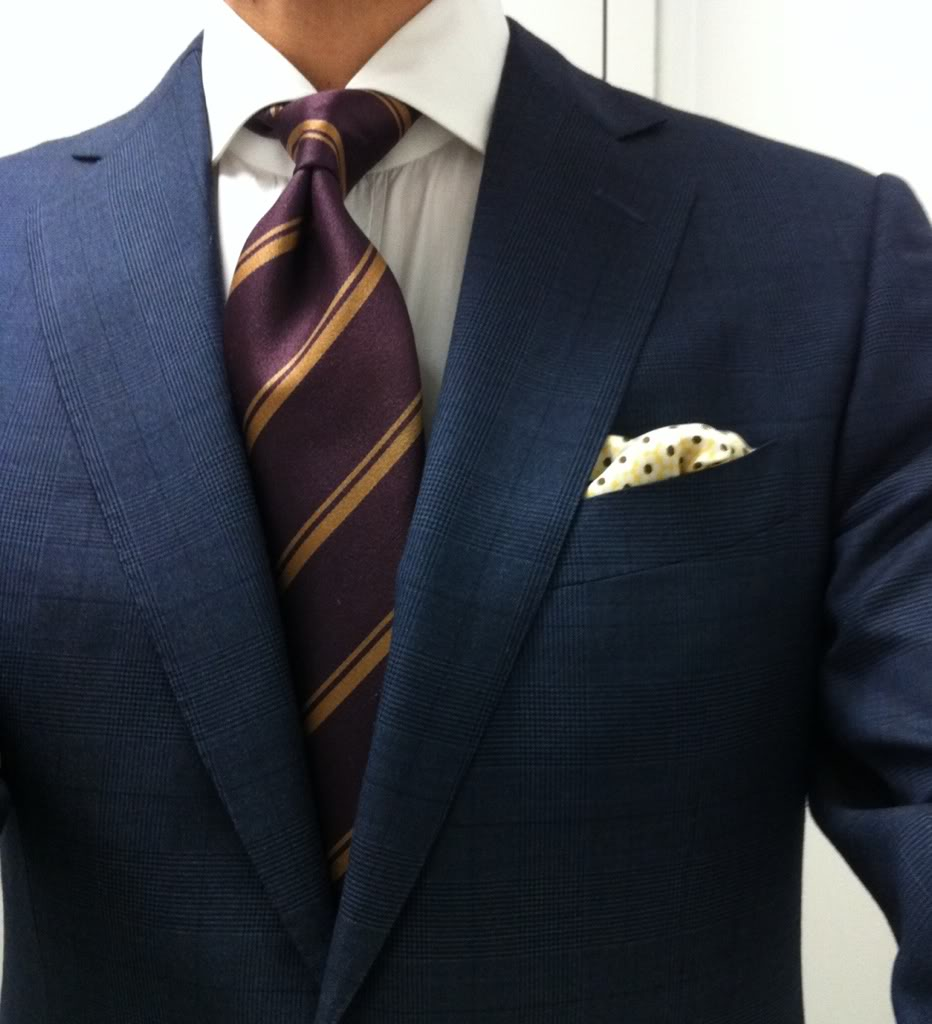What is required for the perfect tie dimple?