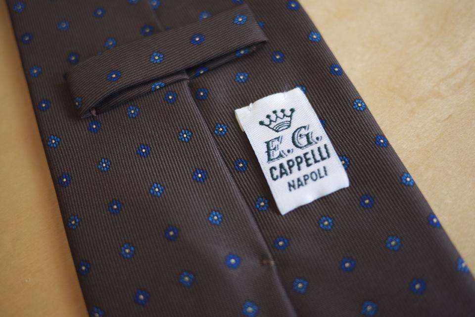 New E.G. CAPPELLI ties from Naples. Soporific. 9cm