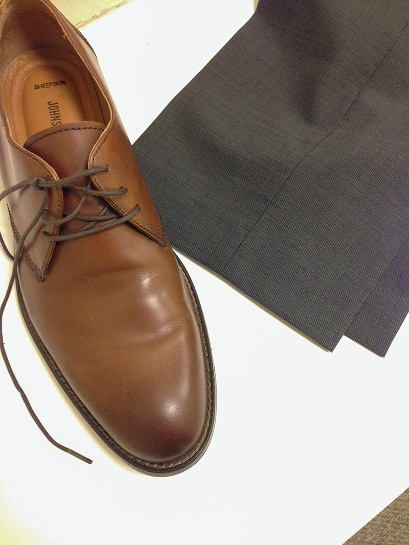 Awesome Do These Brown Shoes And Grey Pants Match