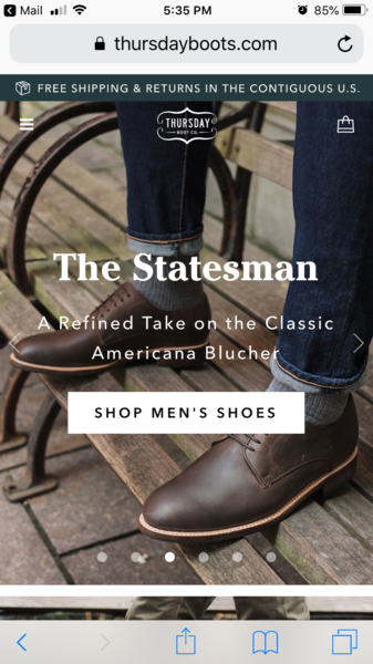 04573b9a65 Thursday Boot Co. Appreciation Thread News, Pictures, etc. | Styleforum