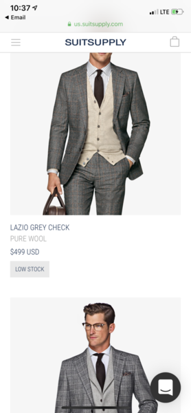 Suitsupply NYC   Page 1269   Styleforum