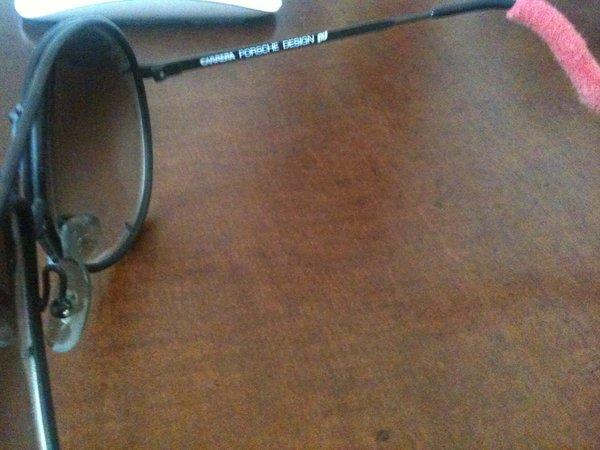 fd24f21de2e9 Porsche Design Carrera 5621 Aviator Sunglasses w case   extra set of ...