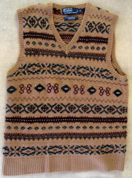 Polo Ralph Lauren Fair Isle Sweater-Vest size SMALL | Styleforum