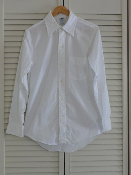 Brooks Brothers Extra Slim Fit Oxford Buttoned Down Shirt