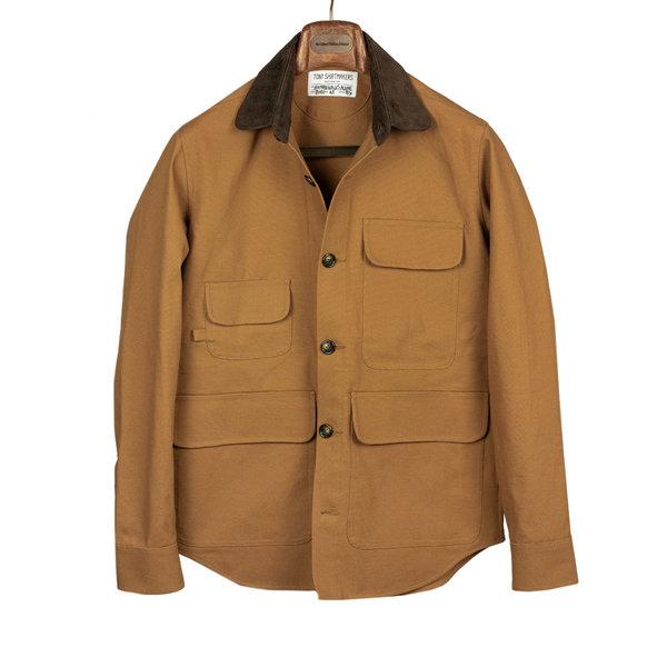 Tony Shirtmakers New York Cotton Duck Barn Jacket Chore Coat Shirt Shacket Made in USA (10).jpg
