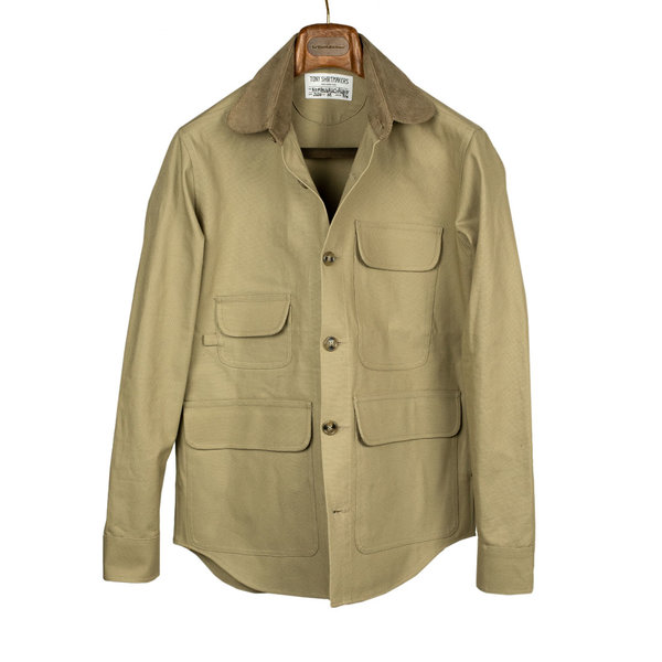 Tony Shirtmakers New York Cotton Duck Barn Jacket Chore Coat Shirt Shacket Made in USA (22).jpg