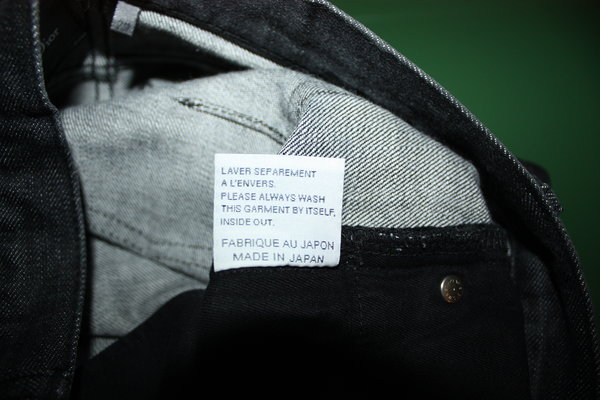 Dior homme jeans made in japan