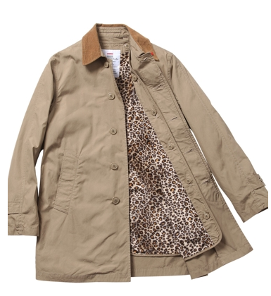 7fc4c55e53b2 Supreme Leopard Lined Trench Coat F/W11 | Styleforum