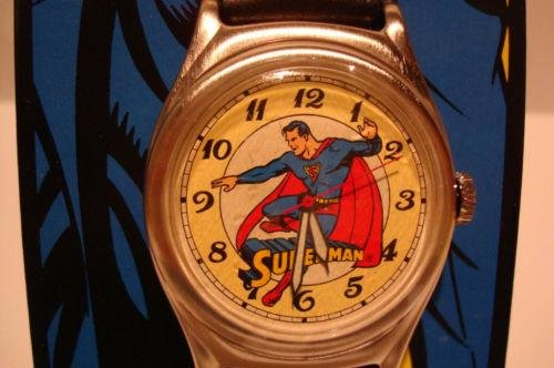 Vintage fossil collectors watch 1993 limited edition superman fwg freerunsca Choice Image