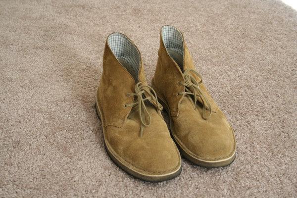 Clarks Desert Boot Oakwood Suede Sz 9 5 Styleforum
