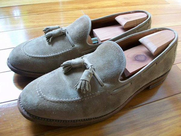 1a1887b04e7f5 Alden x Brooks Brothers suede tassel loafers 12 D price drop 12/19 ...