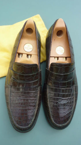 john lobb crocodile shoes