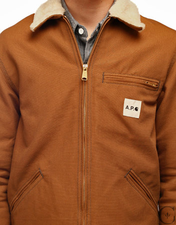 d1b9c351929 APC X Carhartt Detroit Jacket L NWT PRICE DROP | Styleforum