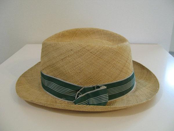 Panama Hat, Stetson Straw Hat, Size 7 5/8, XL | Styleforum