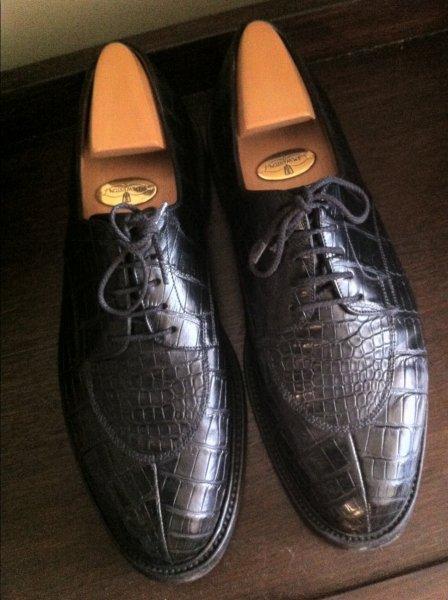 john lobb crocodile shoes price