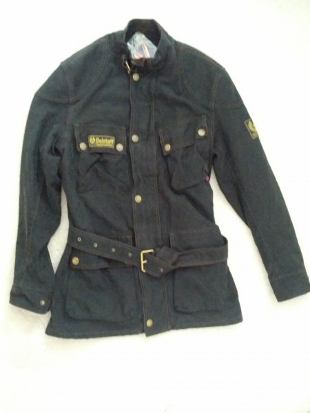 bbc11041de BNWT Belstaff Trialmaster Che Guevara Washed Black M DROPPED ...