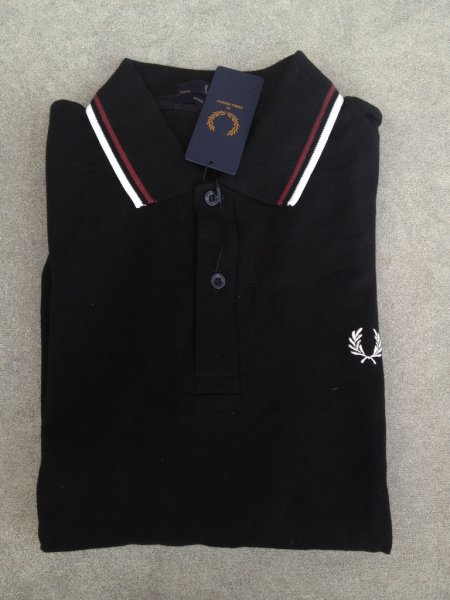 9dad60199 Fred Perry M12 Made In England Polo Super-Clearance