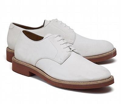 Brooks Brothers White Bucks Size 10.5