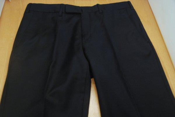 747fd482e96c Incotex High Comfort Flat Front Super 100s Pants in Navy sz. 33 ...