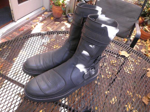 d14d5b1f1ab4d Ann Demeulemeester ┃ Grey Vitello Boots ┃ Fit Size 43-43.5 ...