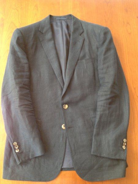 9269c8e149dc ANOTHER DROP (!): 42R RLBL Navy Linen Sport Coat–Ralph Lauren Black ...