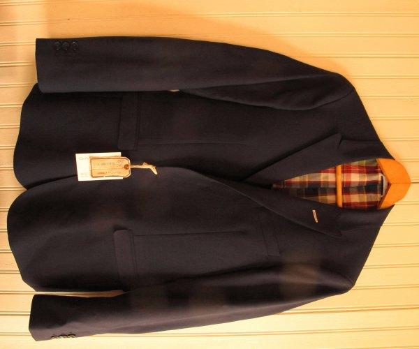 b9946b8f1ba Gant Rugger hopsack, peak lapel, navy blazer 46 (US 36) | Styleforum
