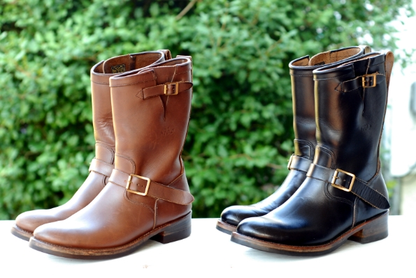 2 pair RRL x Julian engineer boots size 11 | Styleforum