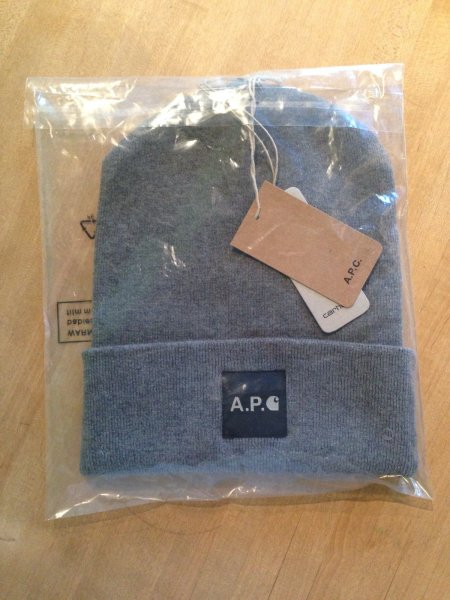 wide varieties thoughts on hot sales APC x Carhartt Beanie / Bonnet/ Toque / Watch cap | Styleforum