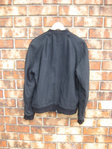 5cd593855 Robert Geller Bomber Jacket, Black. Size 48   Styleforum