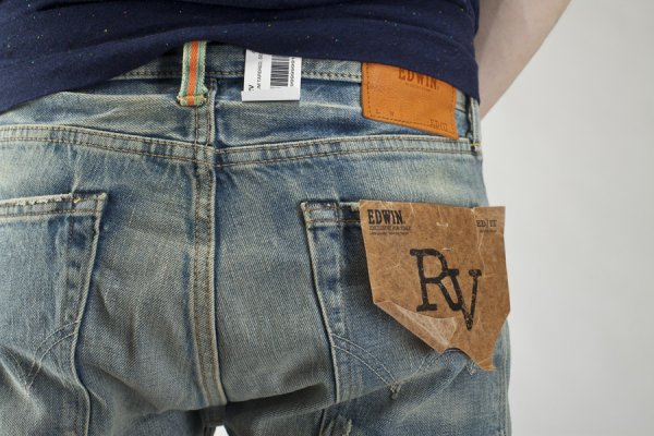 a6cf852a New - Edwin RV Slim Tapered Selvage - Limited Edition - exclusive ...