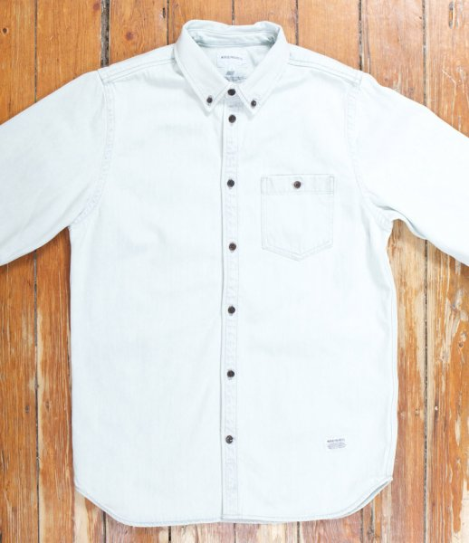 8444aba450 BNWT Norse Projects Anton Bleached Denim Shirt (L)