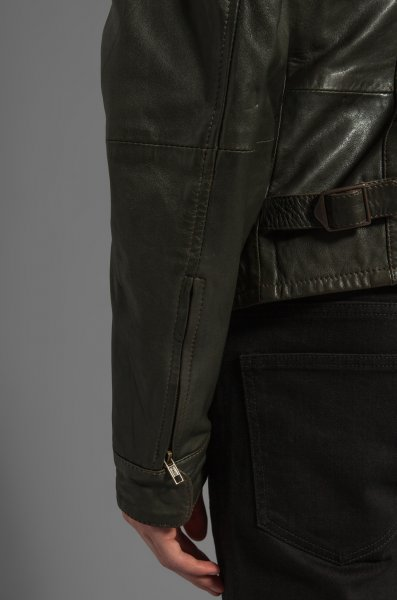 e505ff572 NWT LEVIS MADE AND CRAFTED LEATHER BIKER JACKET CAFER RACE MADE IN ...