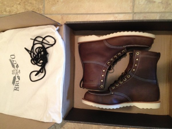 Rrl Ralph Lauren Brunel Boots New 11 5 Styleforum