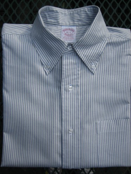Fs New Old Stock Brooks Brothers Usa Made Oxford Shirt