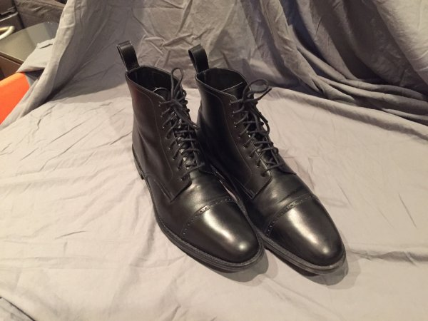 Loake Hyde Men's Boots - black - size
