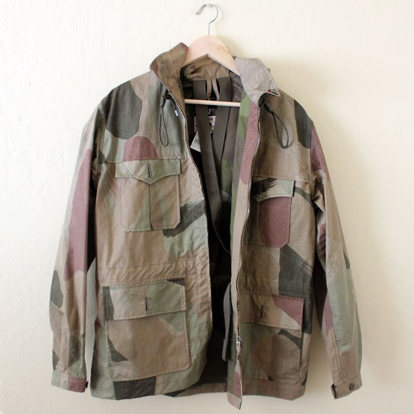 0f086196747c NIGEL CABOURN Mountain Jacket Light Camouflage Ventile Made in ...