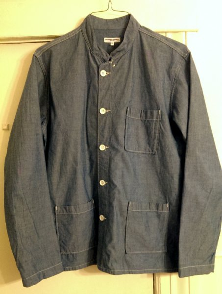 Engineered Garments Dayton Shirt Chambray Medium ss14 engineered garments dayton shirt