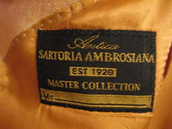 a7128add0 ANTICA SARTORIA AMBROSIANA 1928 MASTER COLLECTION BLAZER   Styleforum