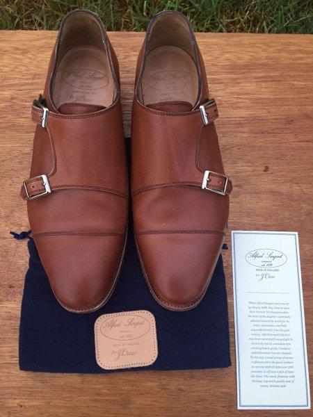 a7694cce6714d Alfred Sargent x J.Crew Double Monk Strap Shoes | Styleforum