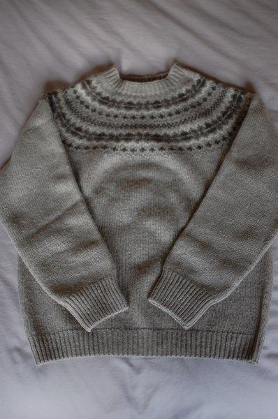 Margaret Howell Fair Isle Sweater (M) | Styleforum