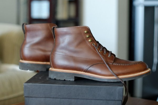 debcb3ada46 J.Crew Kenton Pacer leather boots size 10.5 | Styleforum
