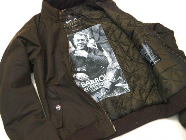 Barbour Merchant Bomber Biker Jacket Limited Ed Mcqueen