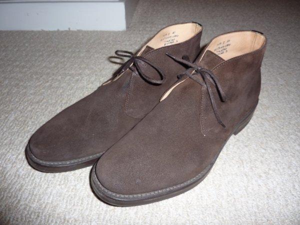 Church S Ryder Iii Brown Suede Chukka Boots Styleforum