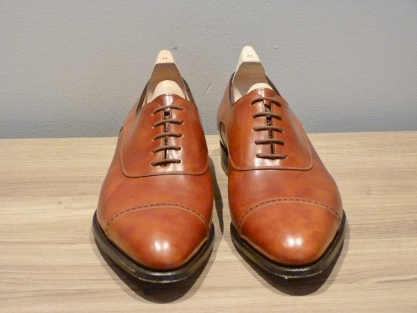 John Lobb Chigwell in New Gold Museum calf Leather 01.JPG