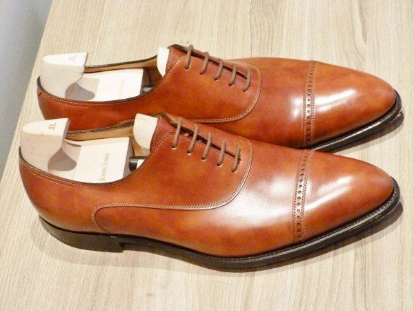 John Lobb Chigwell in New Gold Museum calf Leather 03.JPG