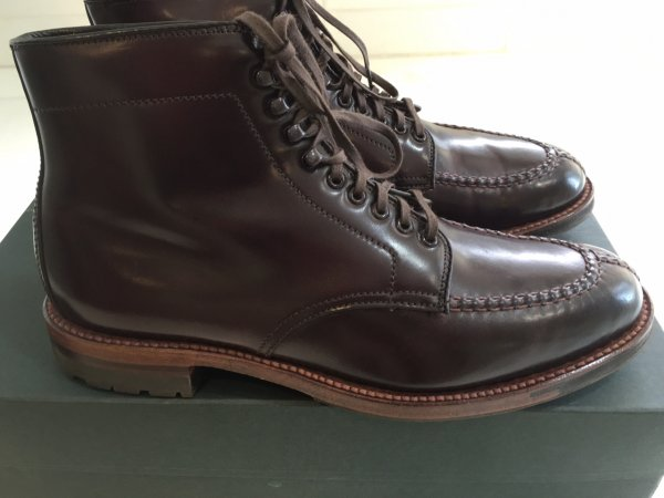 bf90bf46a97 Alden X Leffot Tanker Boots, Color 8 Shell Cordovan, Size 7D ...