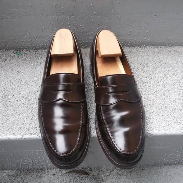 02571c097cf Polo Ralph Lauren Marlow Cordovan Penny Loafer US 9D (C J made ...