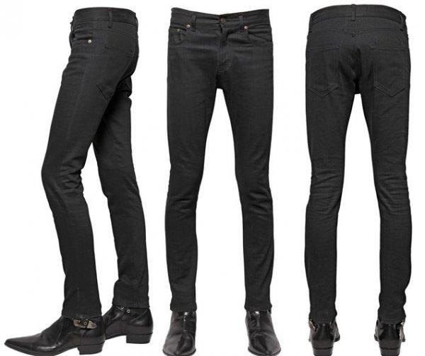 c71441a5665 Saint Laurent Paris SS15 Black Raw D02 Jeans. size 30 | Styleforum