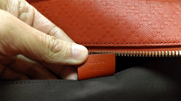 c90c01edf42d84 Almost new GUCCI orange diamante leather holdall / duffle bag - RRP ...