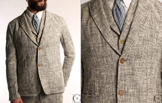 SOLD | NWT-TS(S) Cotton Tweed Blazer sz M | Styleforum